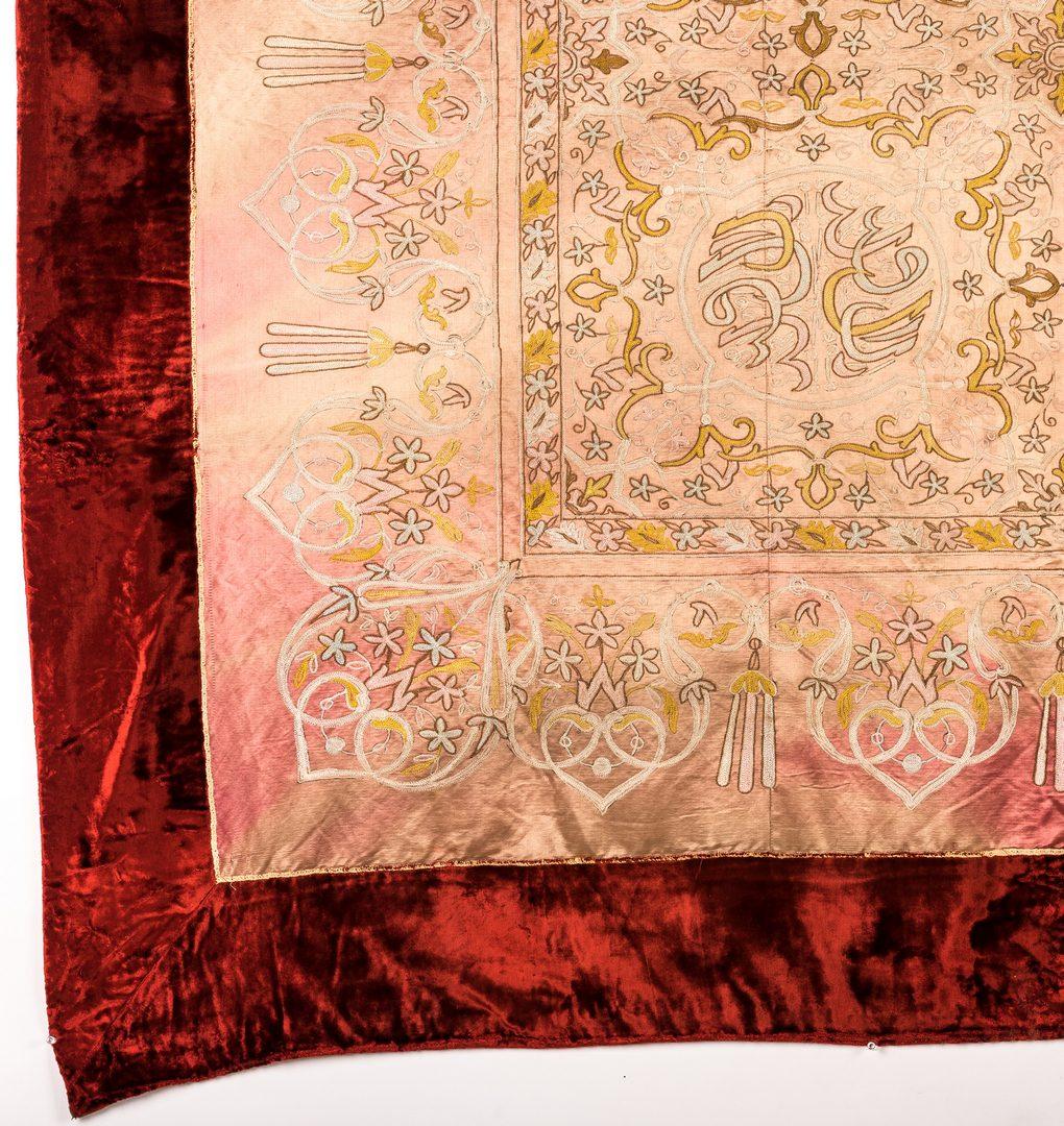 Lot 345: Middle East Textile plus Ecclesiastical Vestments