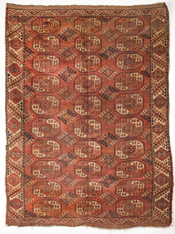 Lot 346: Semi-Antique Bokhara Area Rug