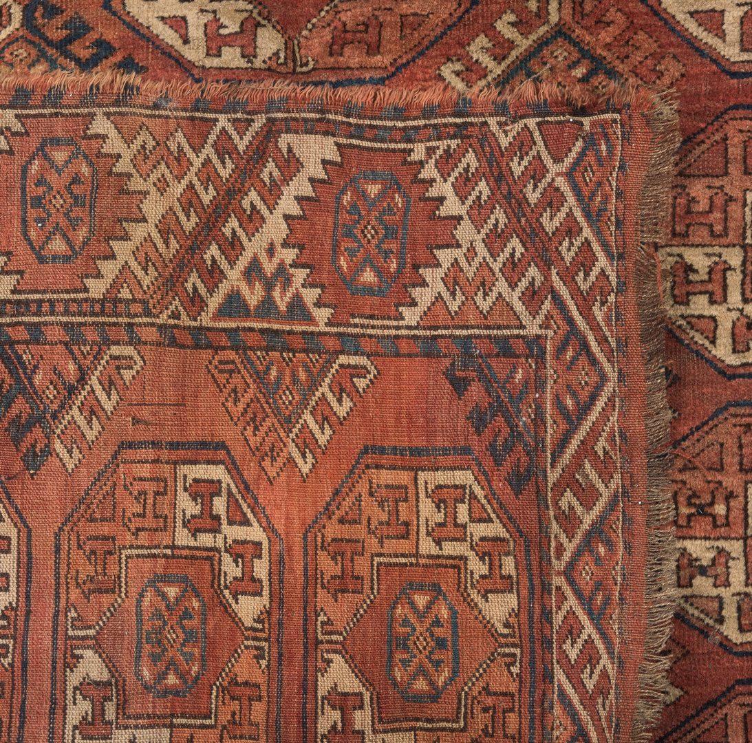 Lot 346: Semi-Antique Bokhara Area Rug