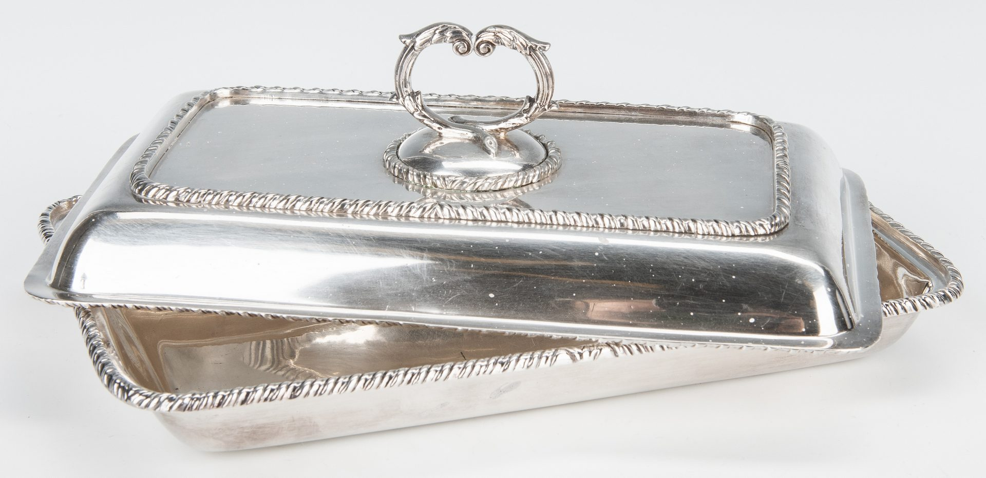 Lot 354: 5 Victorian Silverplate Tableware Items