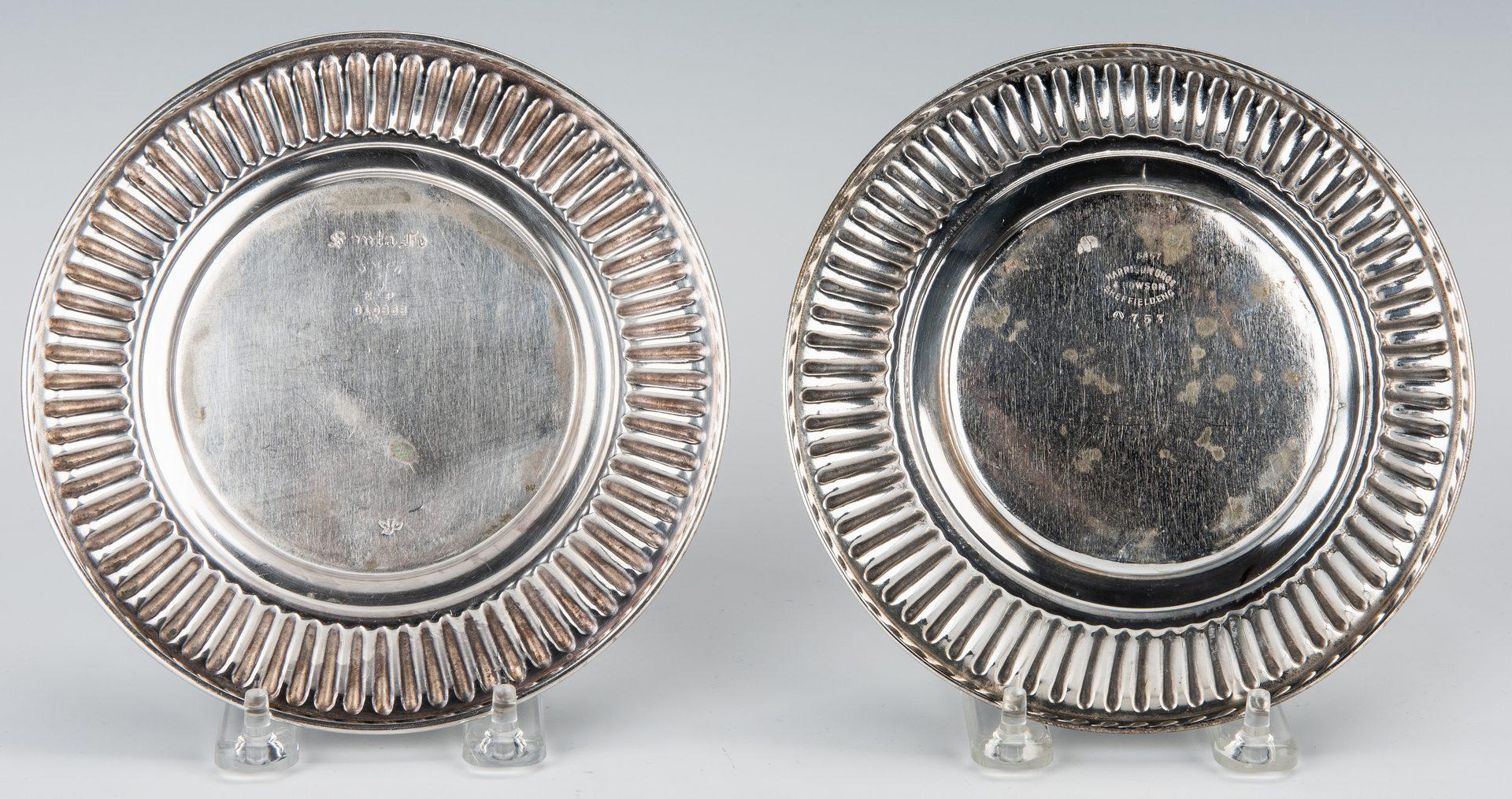 Lot 355: 5 pieces Santa Fe Railroad Silver