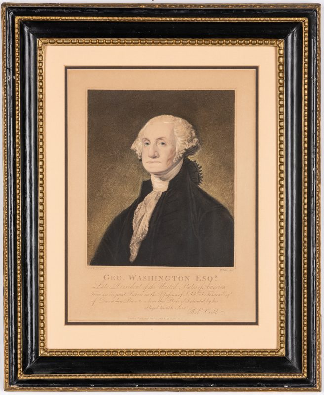 Lot 359: George Washington Framed Print