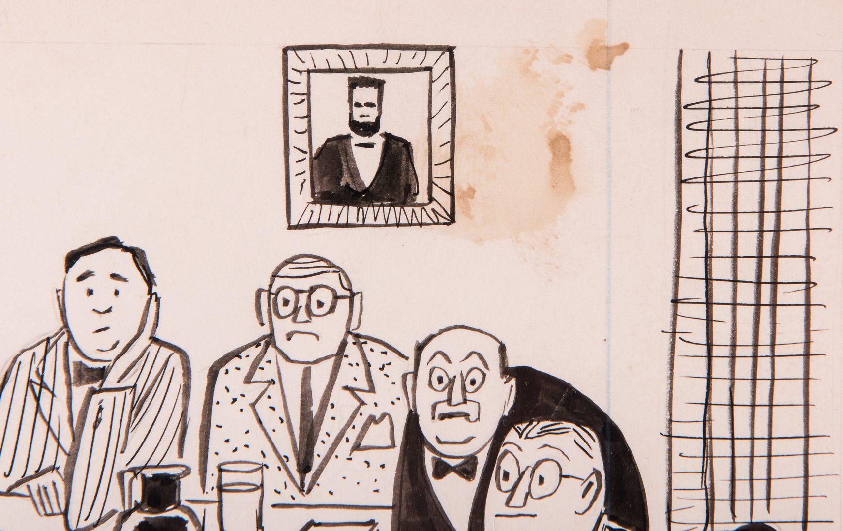 Lot 363: Charles Pearson Political Magazine Cartoon