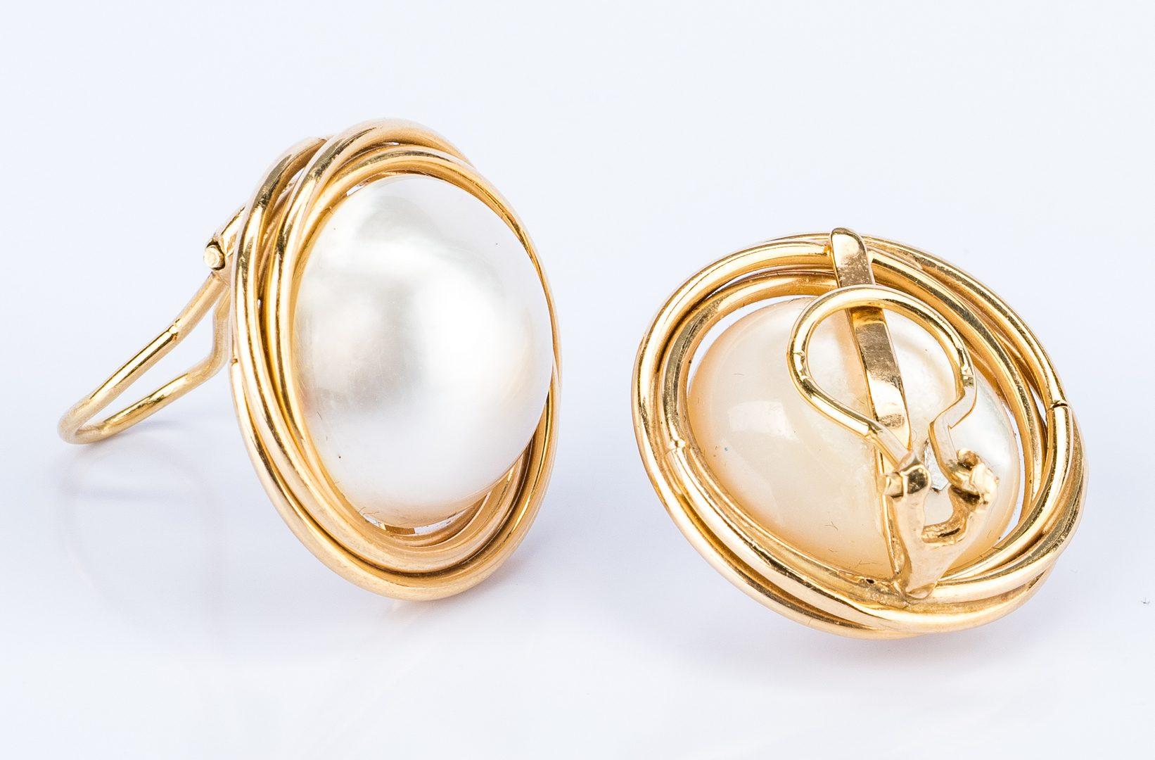 Lot 36: 3 Pcs. of 14K Pearl Jewelry