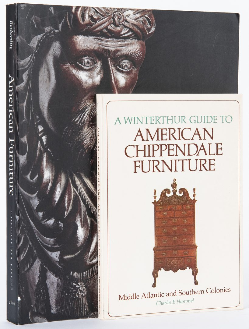 Lot 372: 16 American Furniture & Ceramics Books