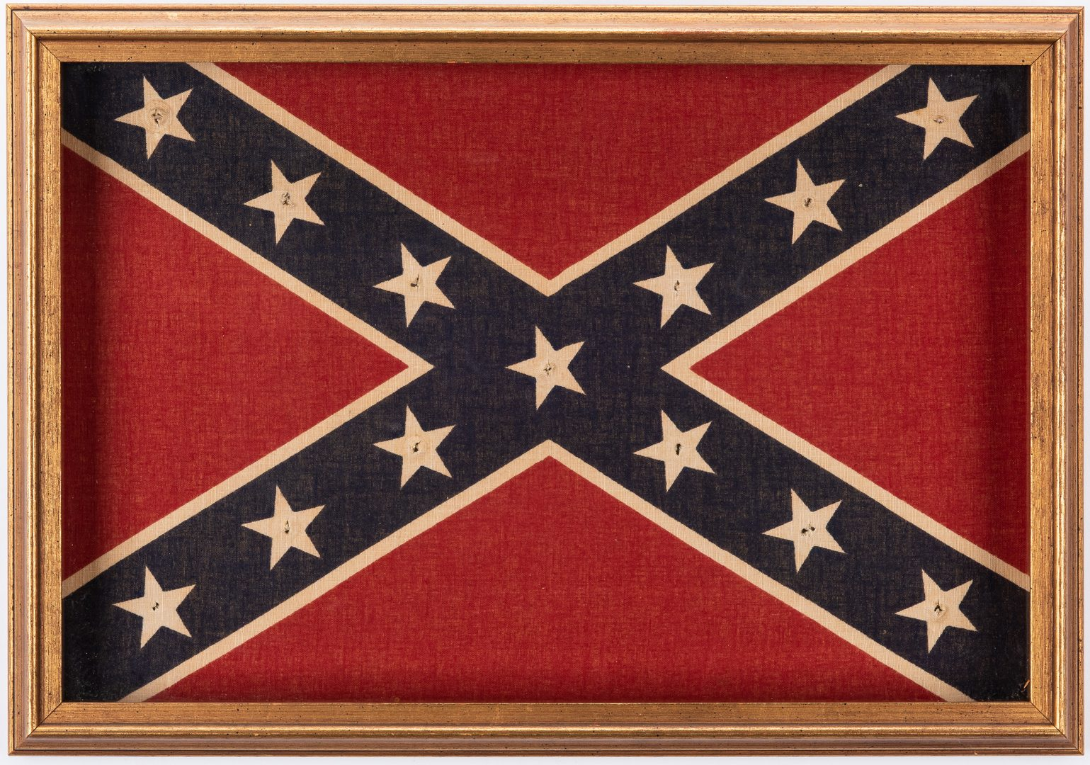 Lot 383: 5 Confederate Items including Flags