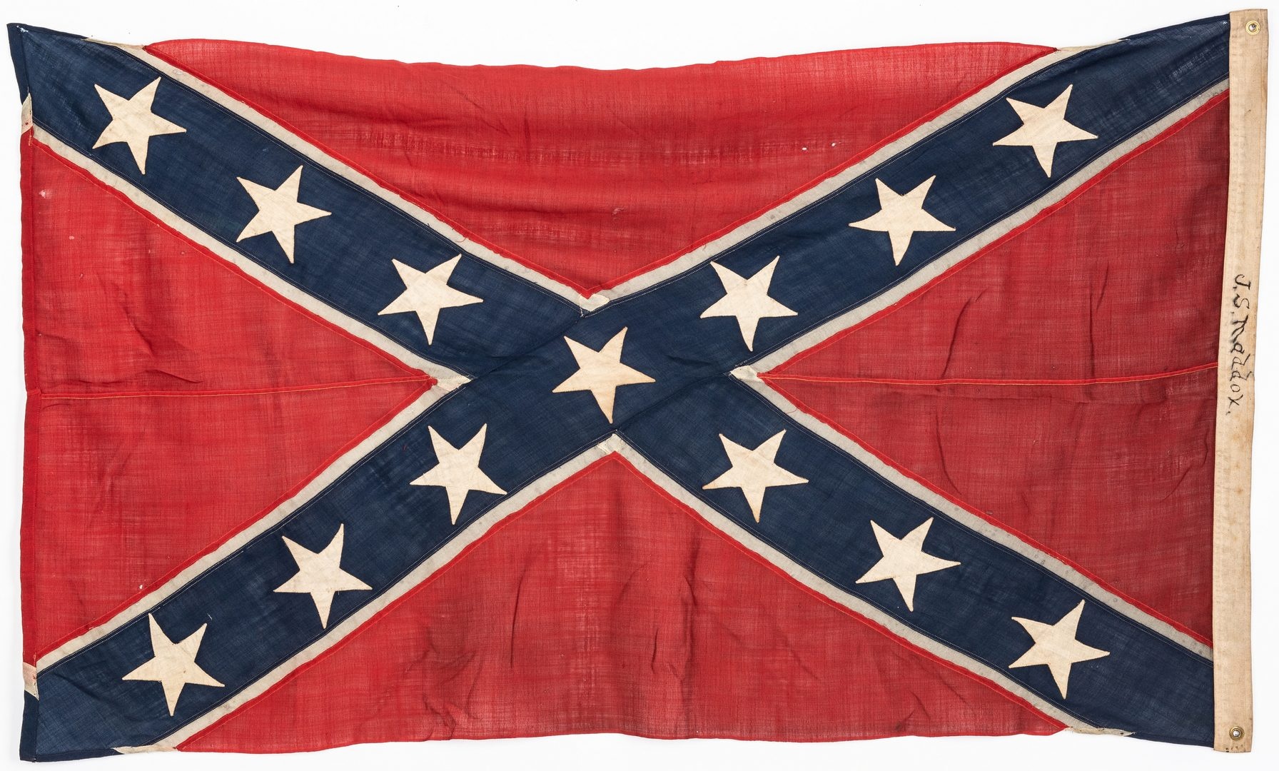 Lot 390: Confederate Reunion Flag or Banner