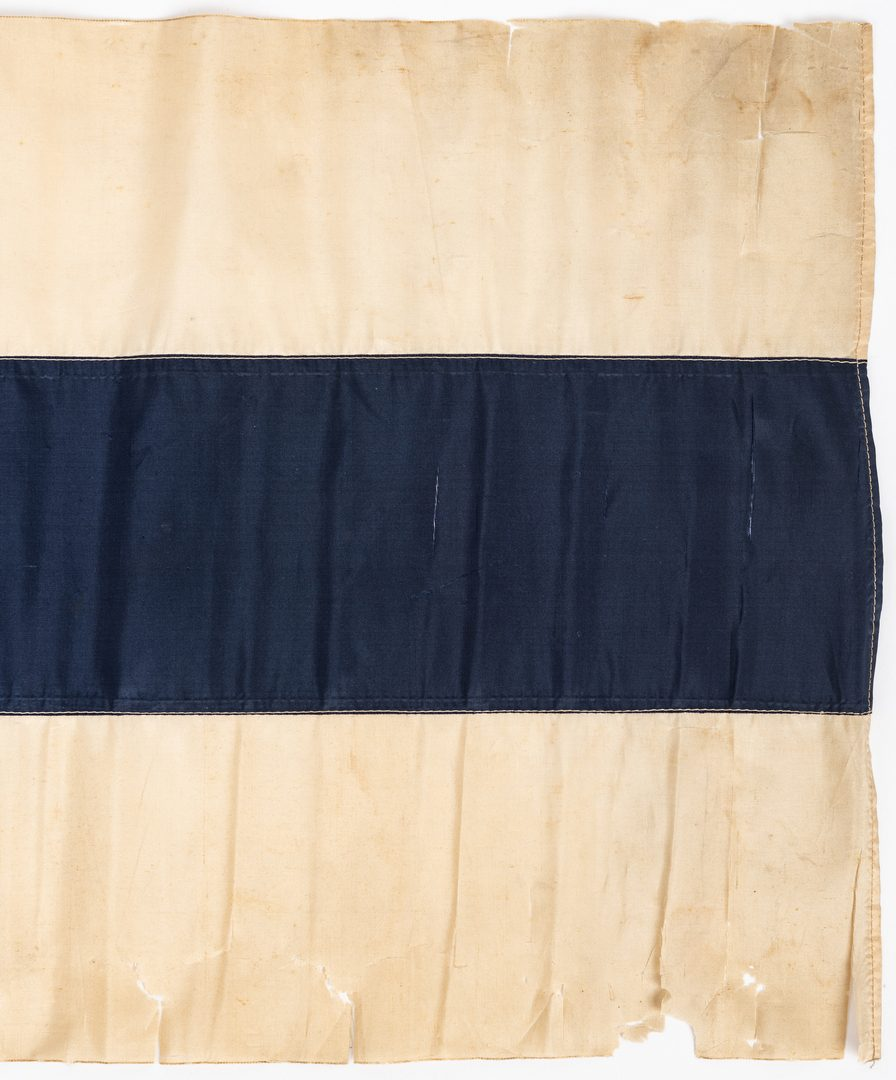 Lot 391: 3 20th Cent. Flags, inc. Modified Bonnie Blue Reunion