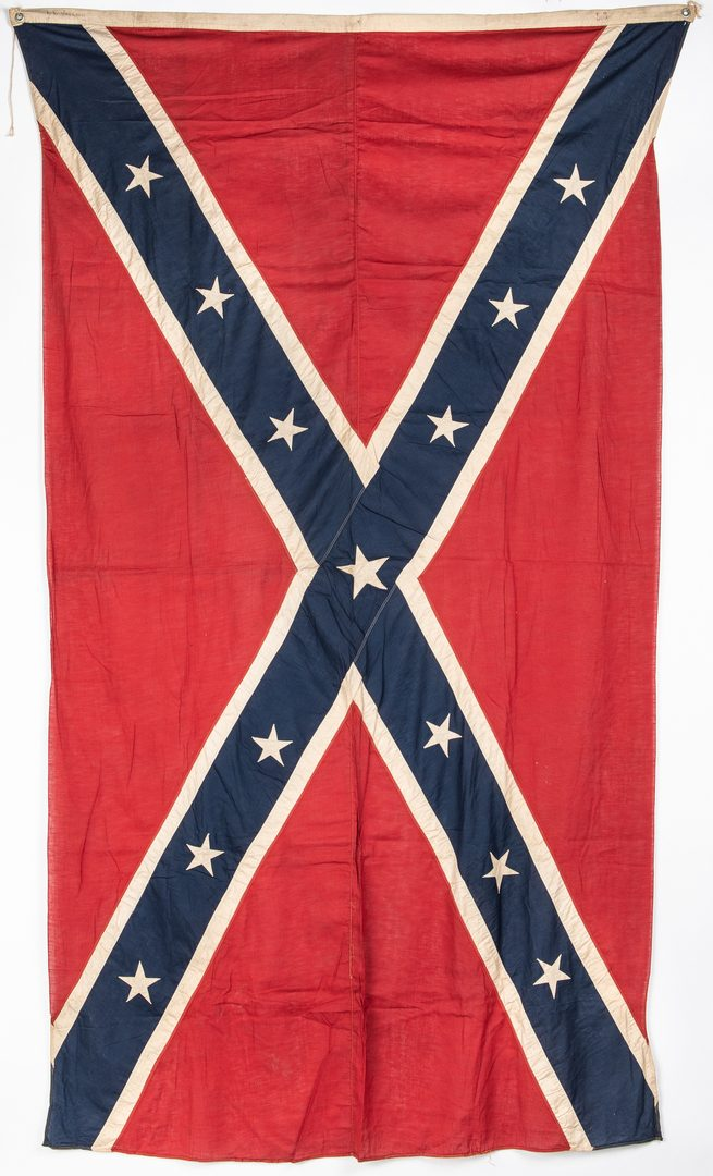 Lot 393: Large Southern Cross Reunion Flag or Banner