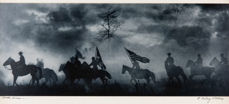 "Lot 396: A. Aubrey Bodine Photograph, ""Smoke Screen"""