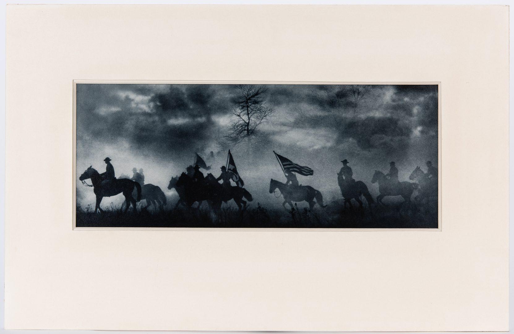 "Lot 396: A. Aubrey Bodine Photograph, ""Smoke Screen"""