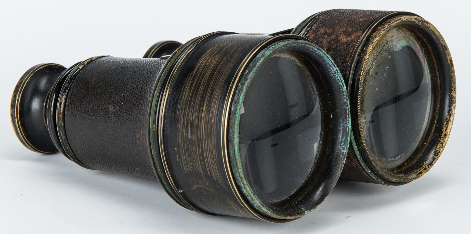 Lot 399: Binoculars Awarded to Captain Robert M. Lavender, Boston, MA, 1878