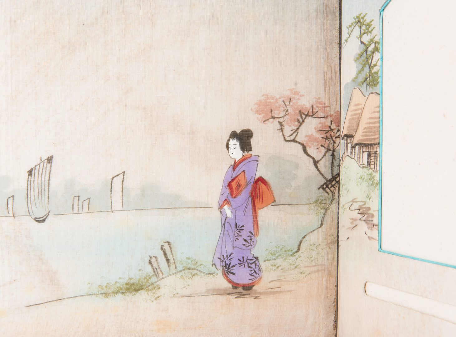 Lot 403: Japanese Lacquer Album & Photographer's Collage
