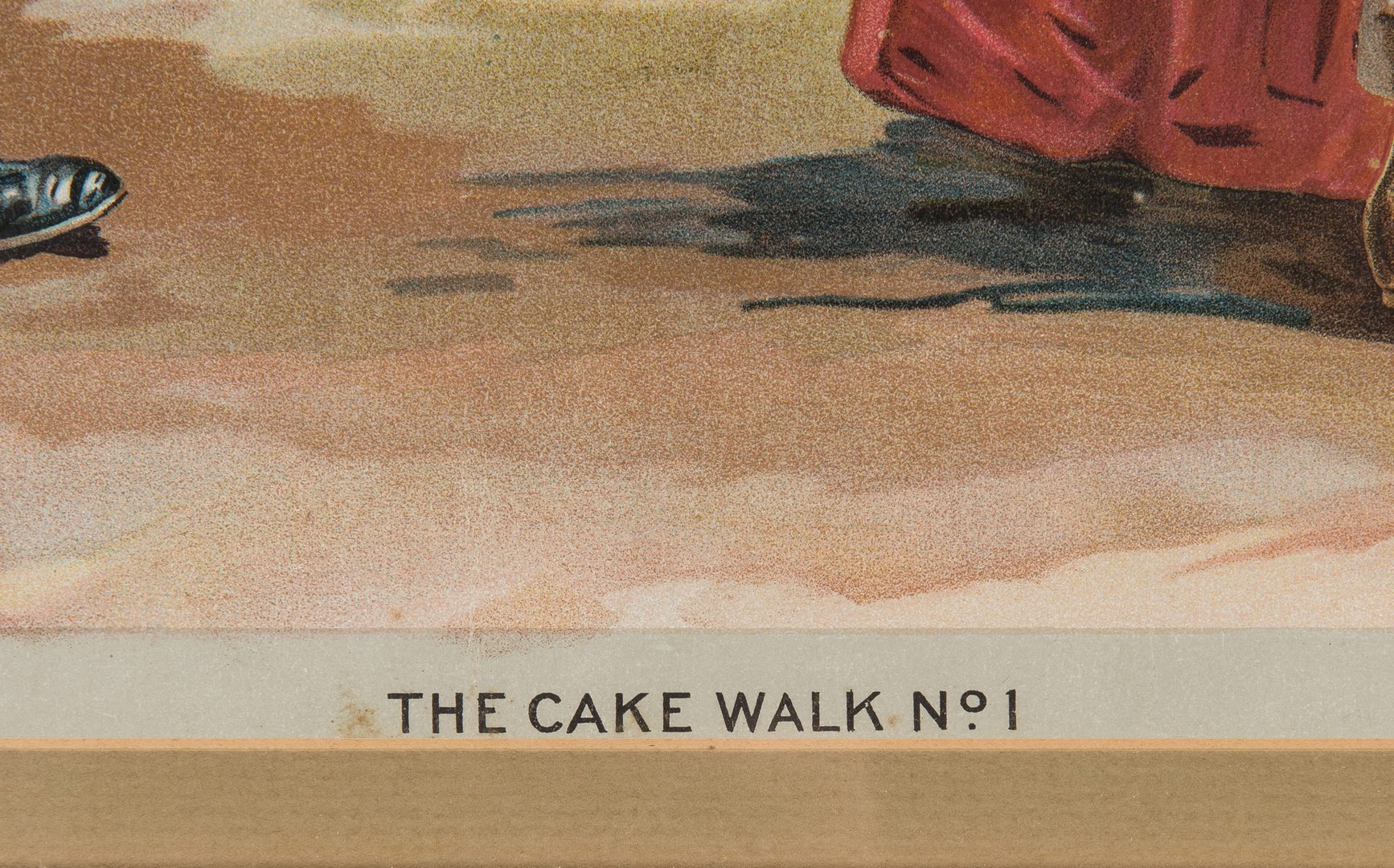 Lot 410: 5 Old Virginia Cheroots Cake Walk Prints