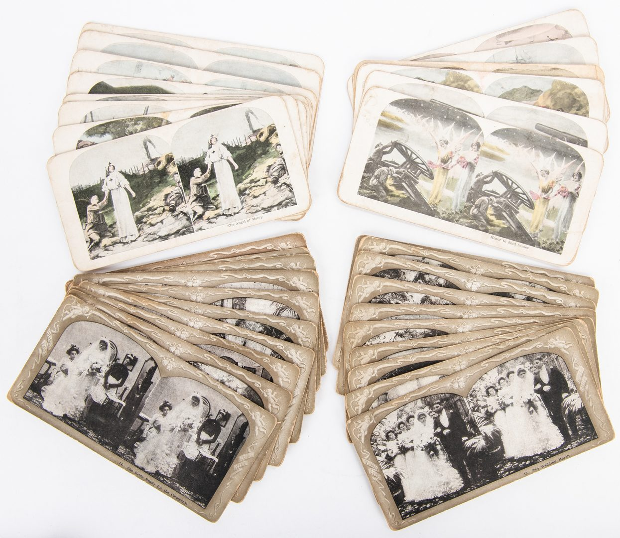 Lot 417: Stereoview Card Collection, approx. 389