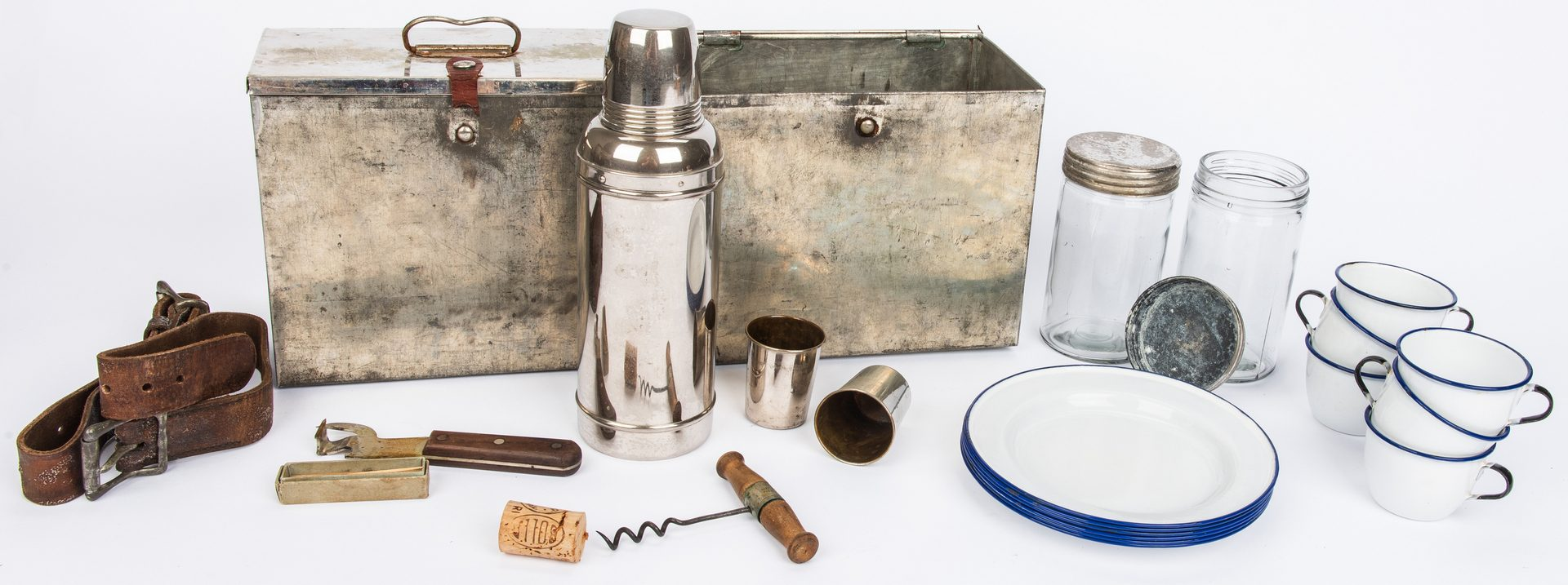 Lot 418: Vintage Automobile Picnic Set