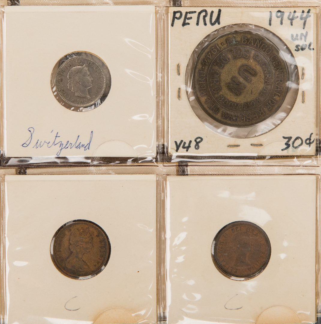 Lot 433: 481 American & International Coins