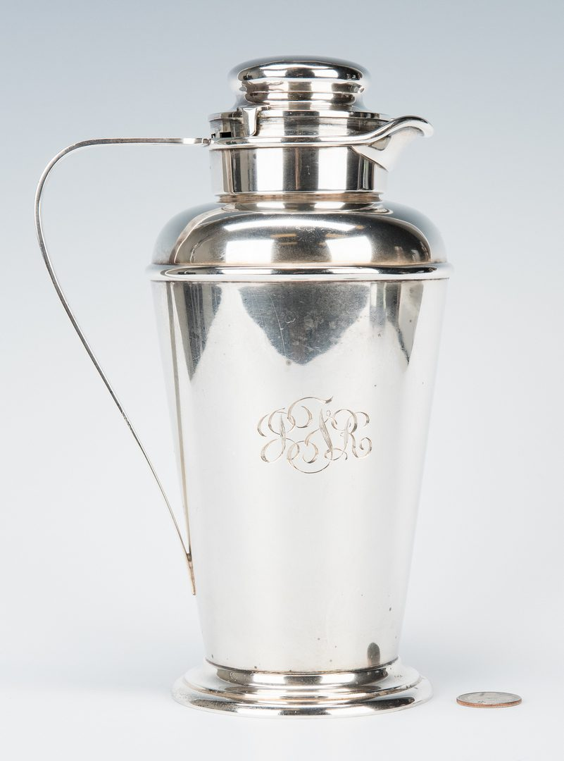 Lot 45: Gorham Sterling Cocktail Shaker