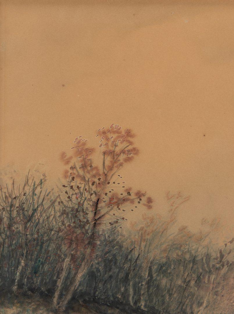 Lot 49: Robert Burns-Wilson Watercolor & Gouache Landscape