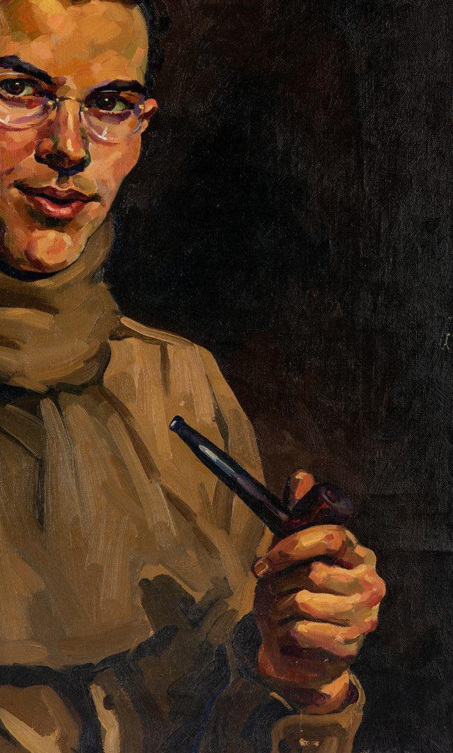 Lot 52: Portrait by Edward Hurst 1945