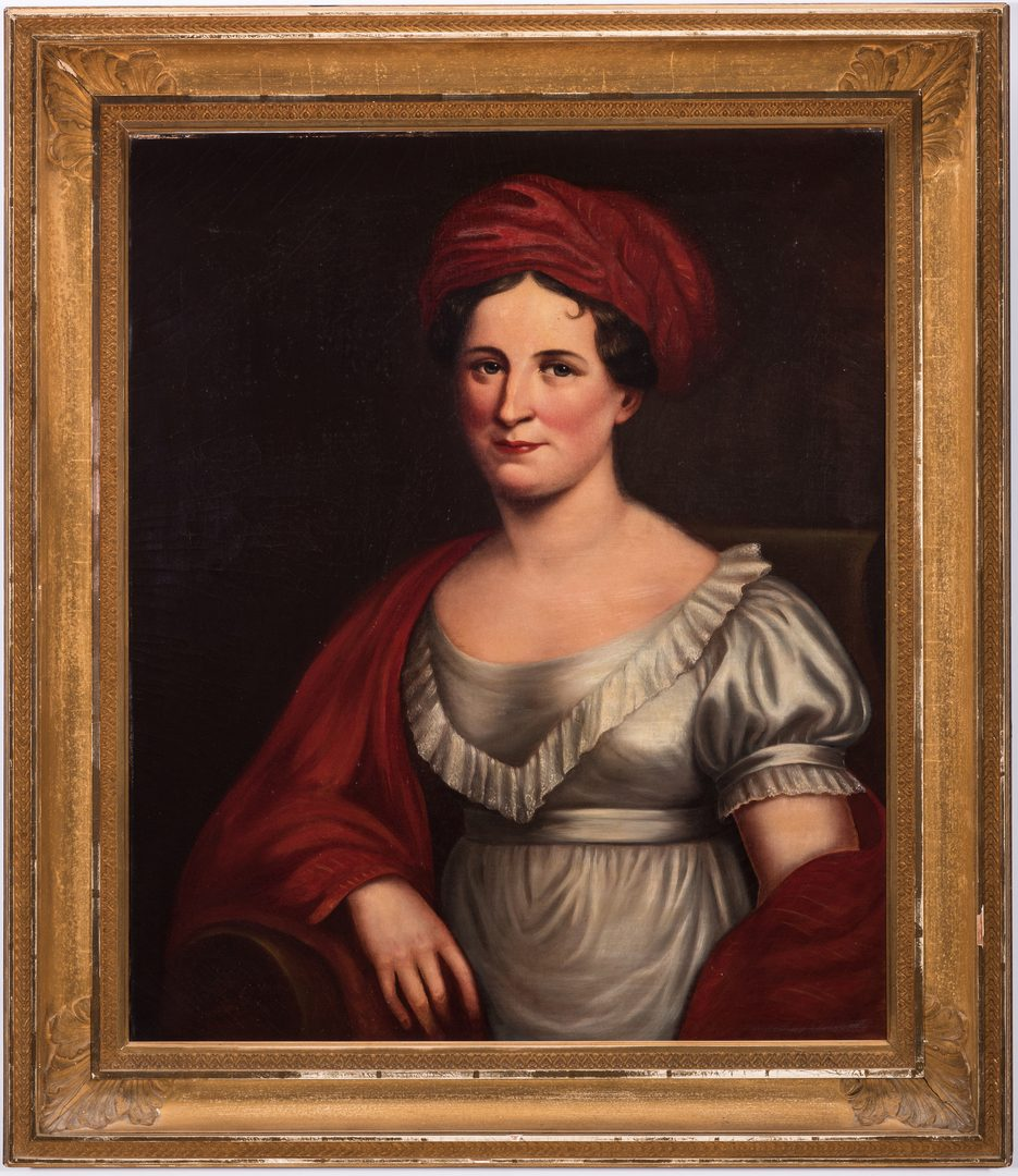 Lot 60: Portrait of Julia C. Dearborn, after Charles Bird