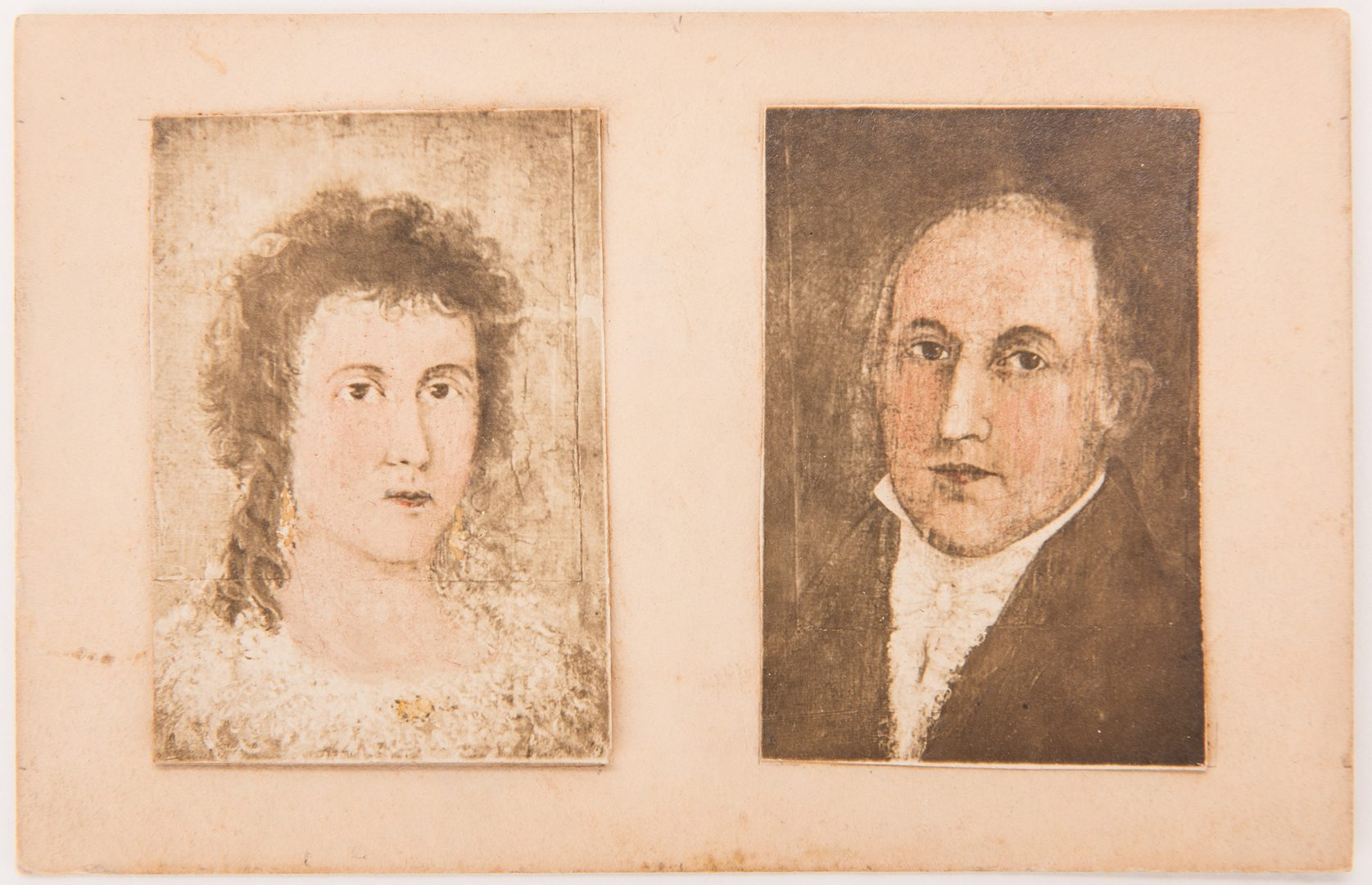 Lot 61: Boyd Portrait and Pair of Phototypes and The Launching Print, 4 items
