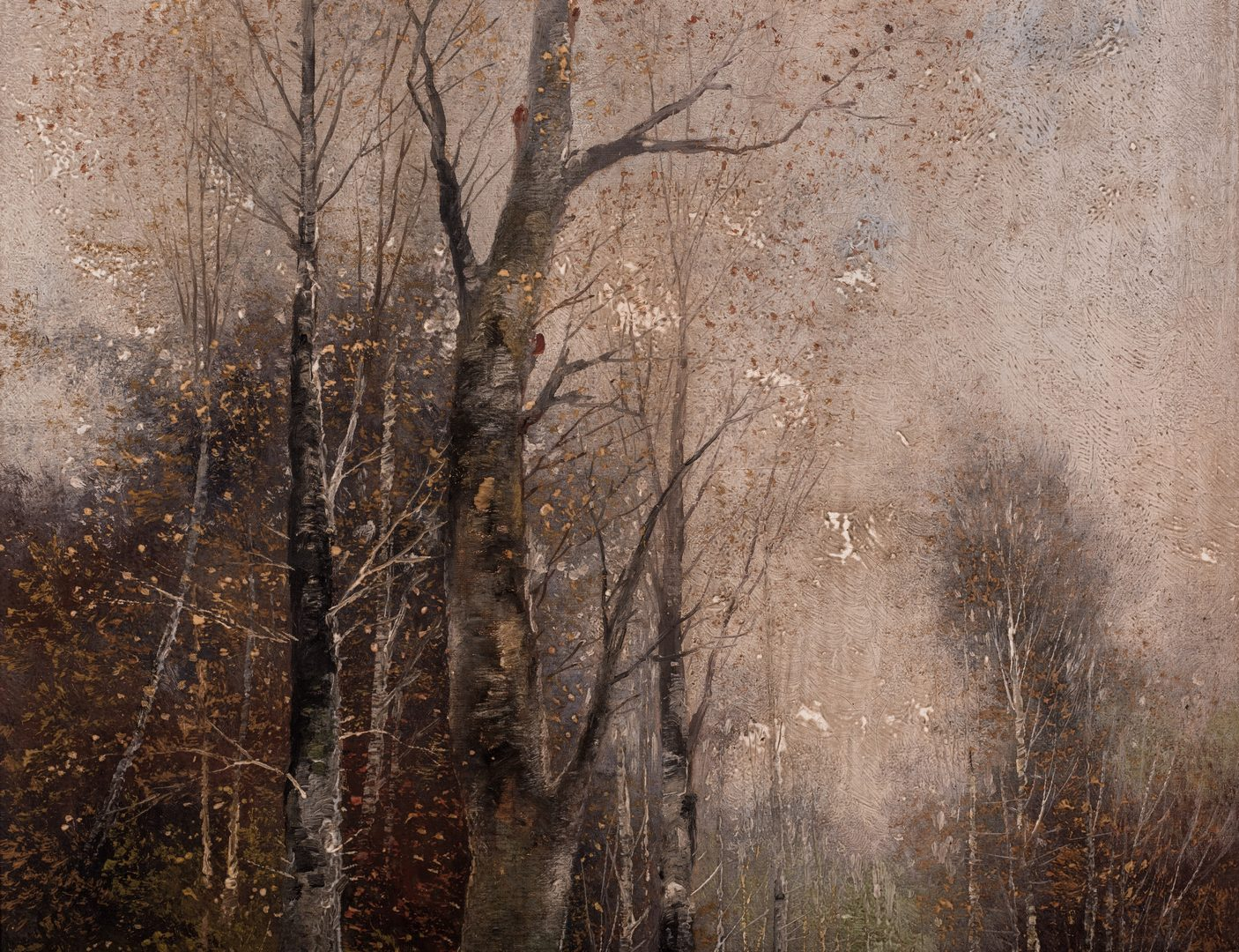 Lot 68: Continental Fall Landscape, O/C