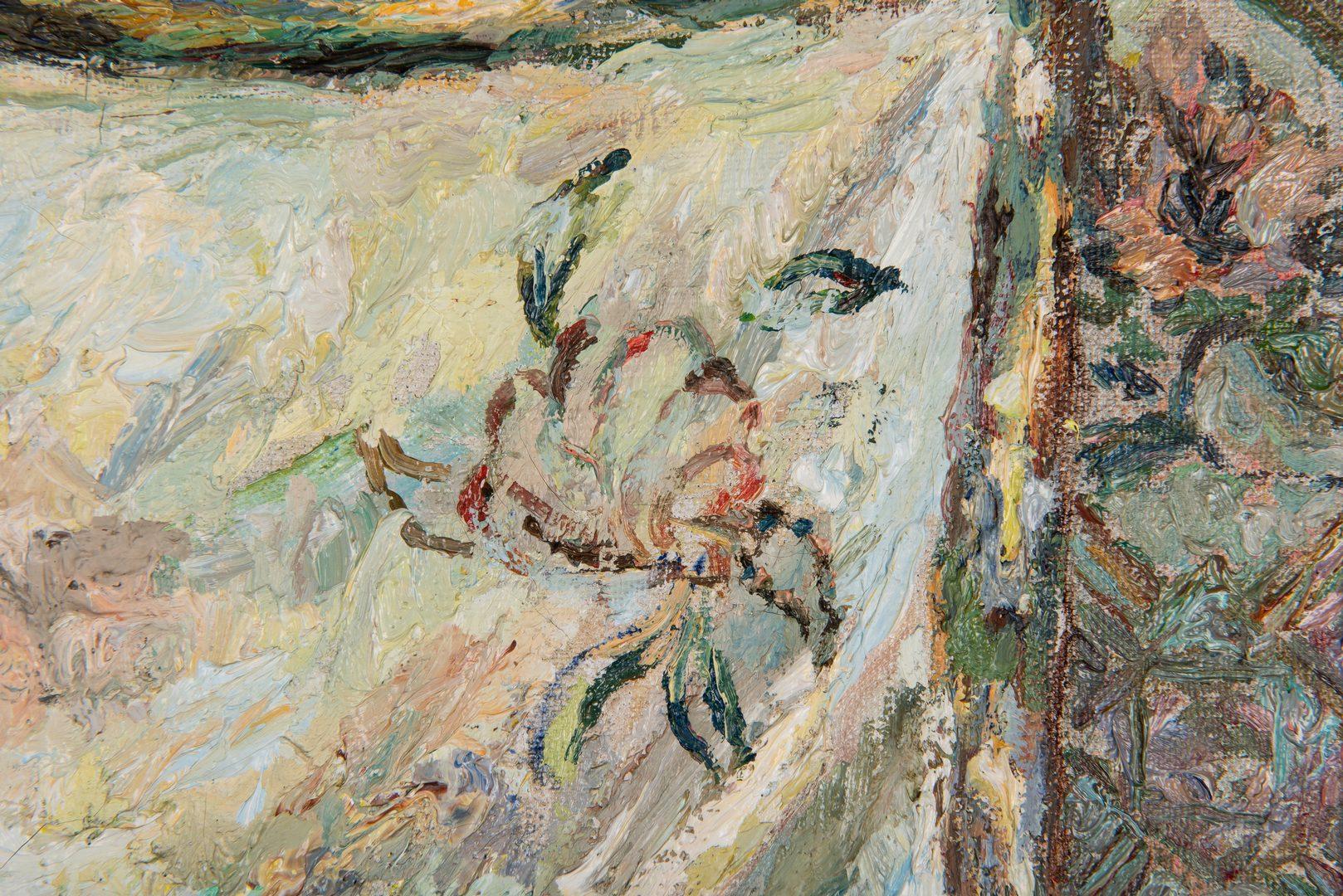 Lot 70: Russian Impressionist Still Life, Tabletop