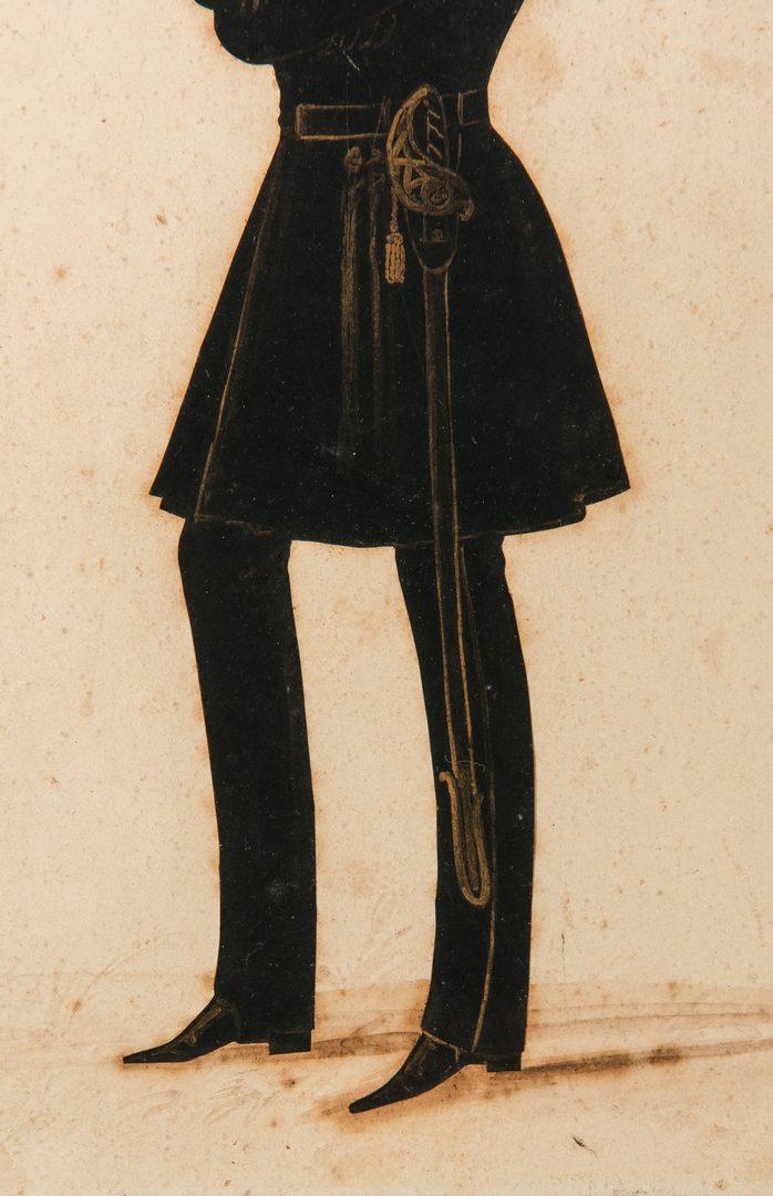 Lot 80: 7 Silhouettes & 2 Engravings, inc. M.A. Honeywell