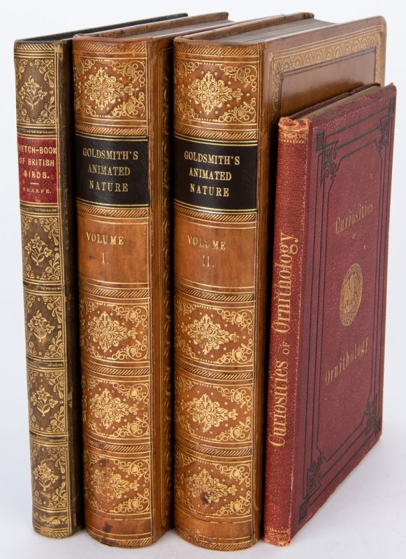 Lot 88: 3 Bird/Natural History Books, inc. Goldsmith, Sharp, & Wood