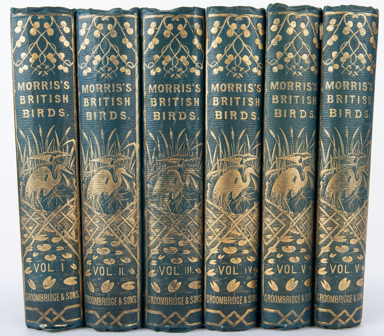 Lot 92: Morris, A History of British Birds, Vol. 1-6, 1851-1857