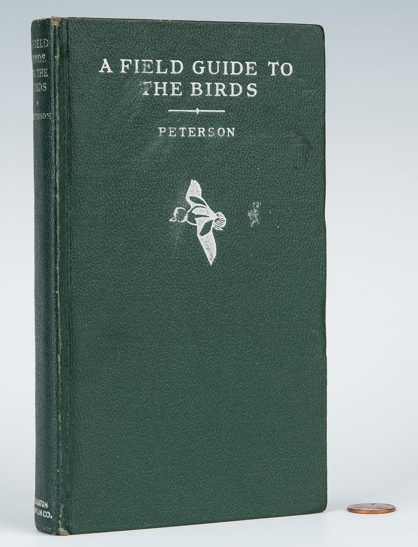Lot 95: R. T. Peterson, Field Guide to Birds, 1st State, 1934