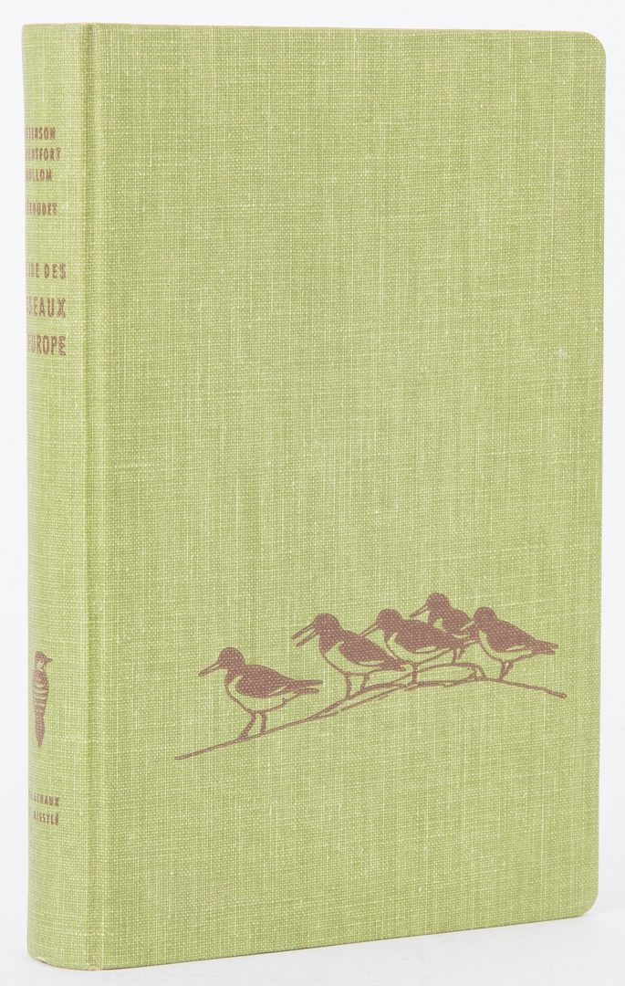 Lot 98: 5 Roger Tory Peterson, Bird Guide Foreign Editions
