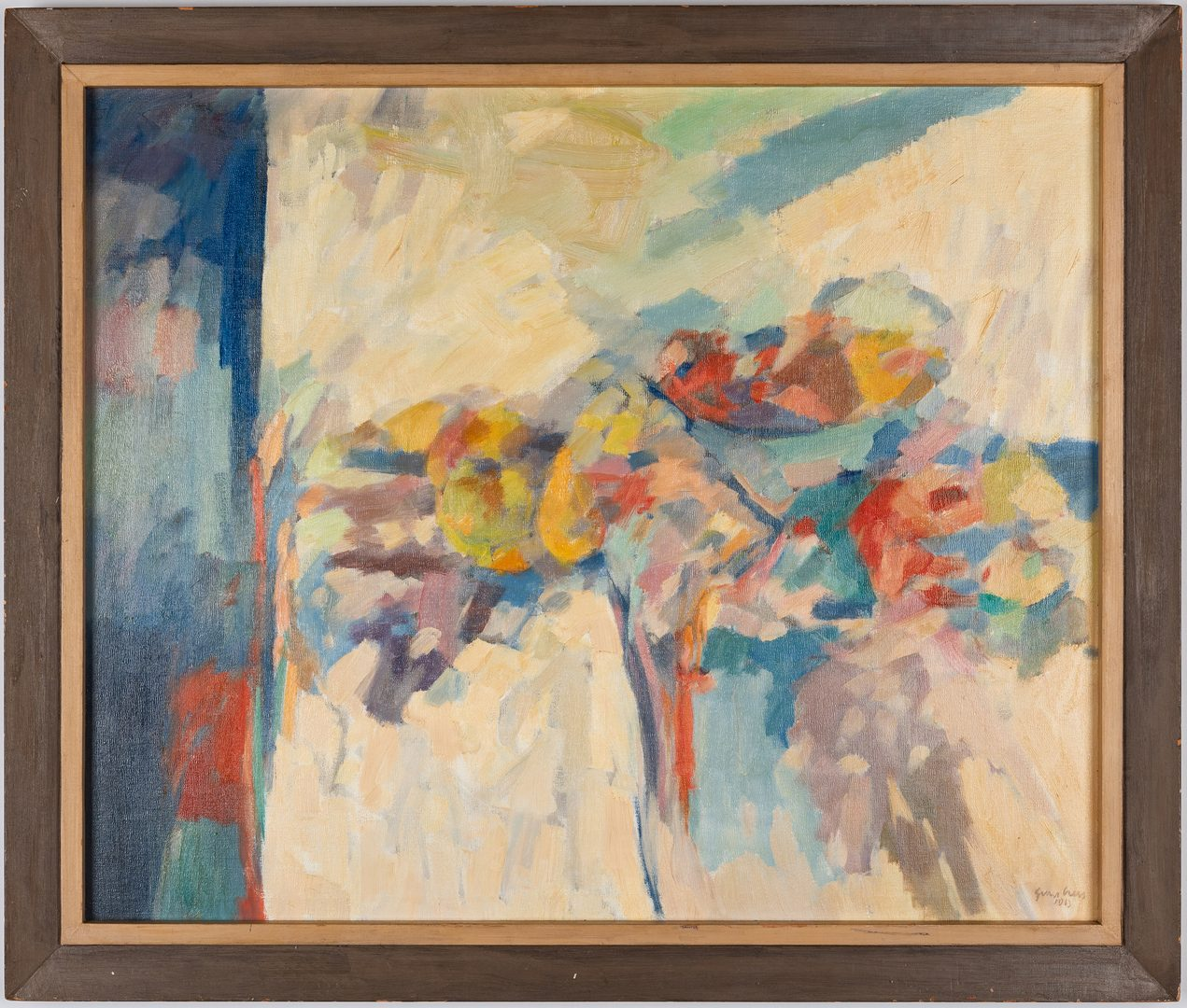 Lot 108: George Cress, AL/TN, Abstract Still Life