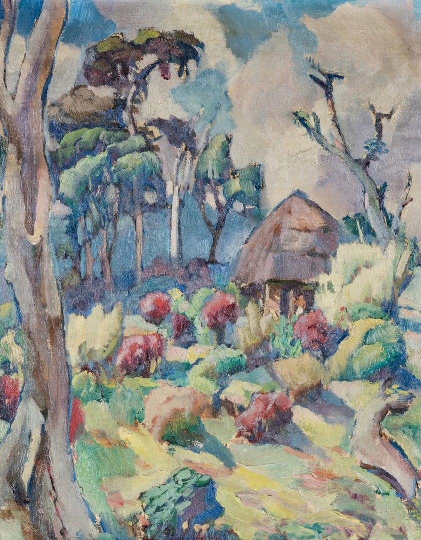Lot 109: Omar Lassonde O/C, Samoan Landscape, Avele