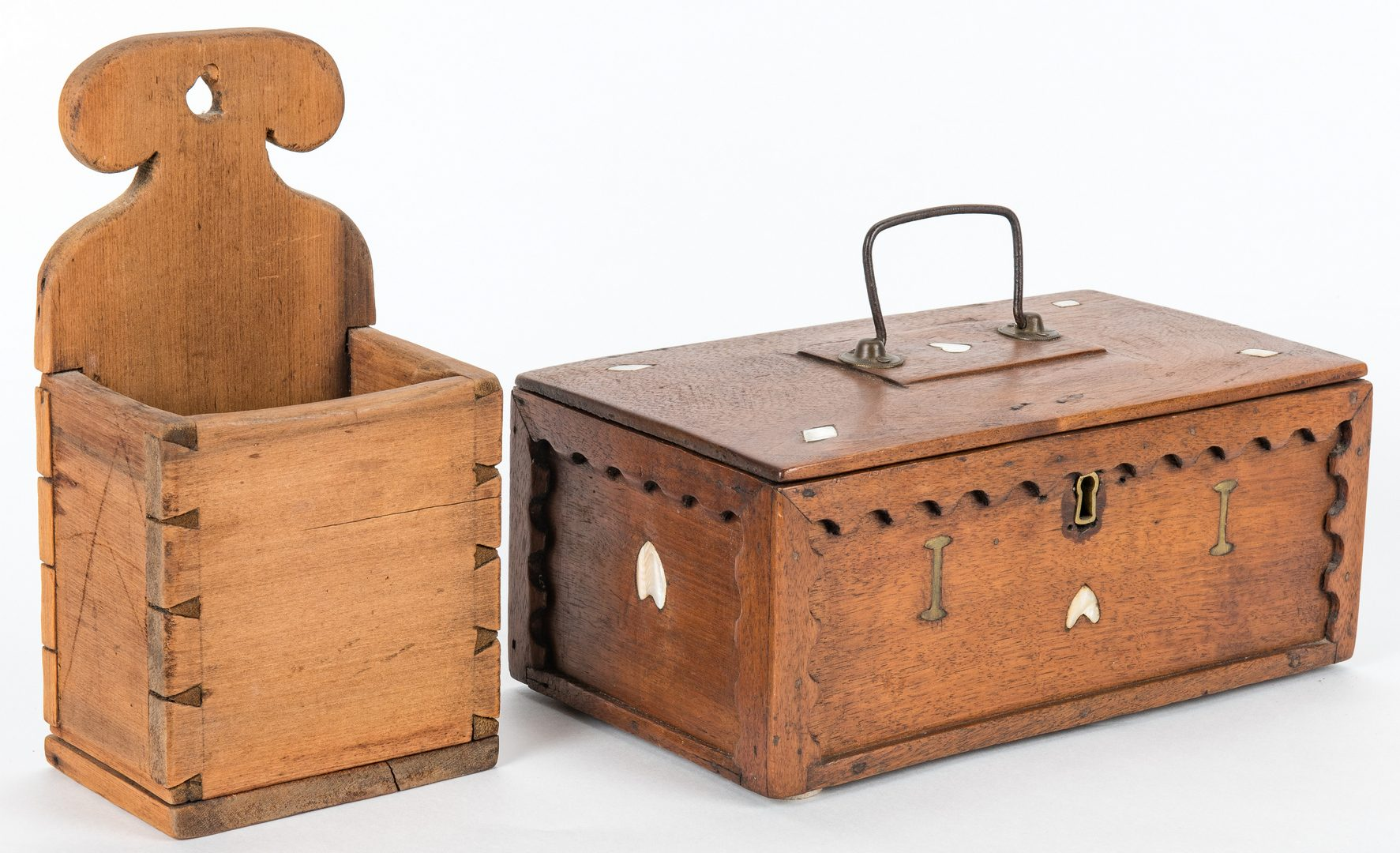 Lot 122: Collection of 12 Wood Boxes, incl. Shaker