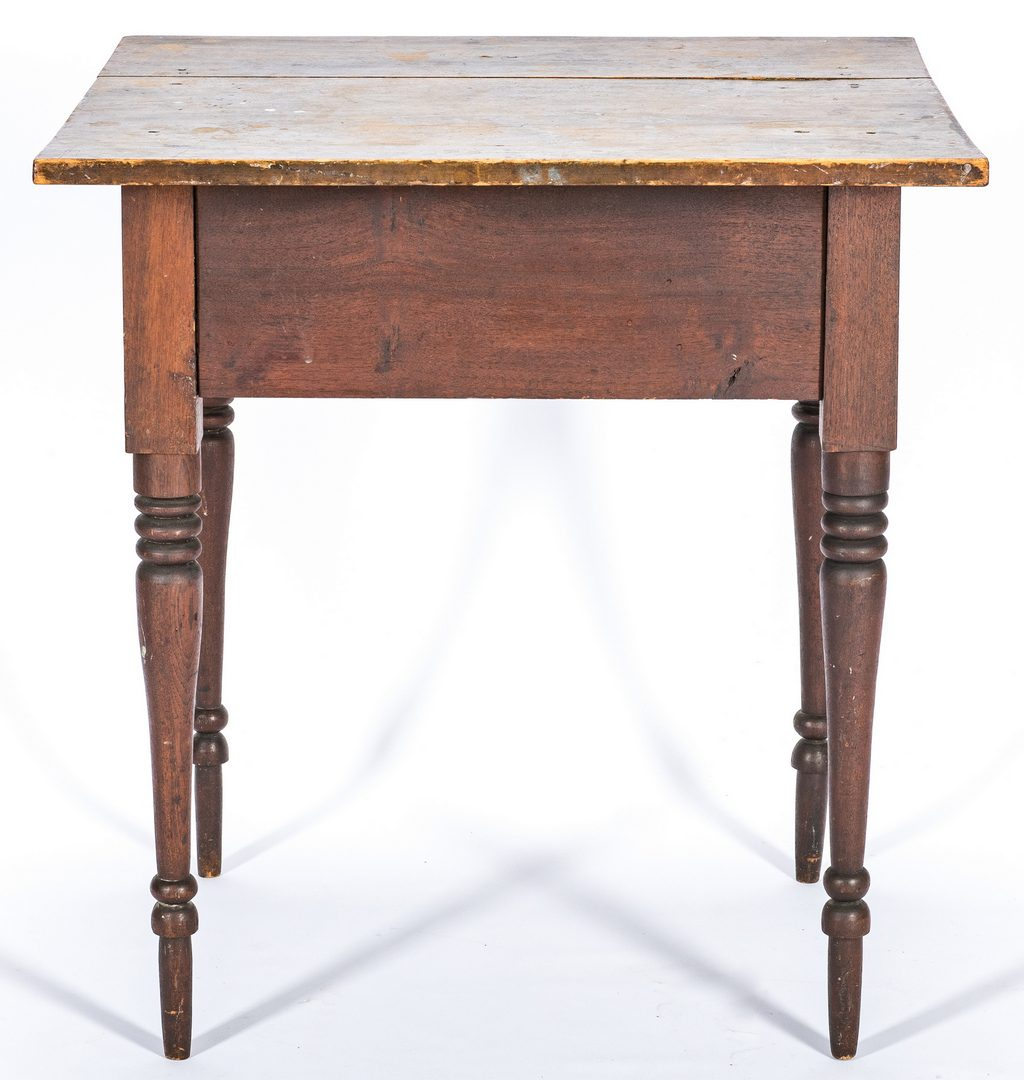 Lot 140: Virginia Sheraton Cherry Work Table