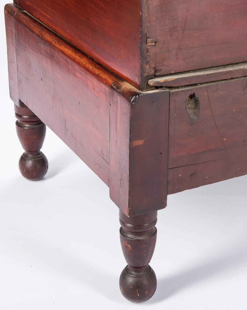 Lot 141: Middle TN Cherry Sugar Chest, Maury Co.