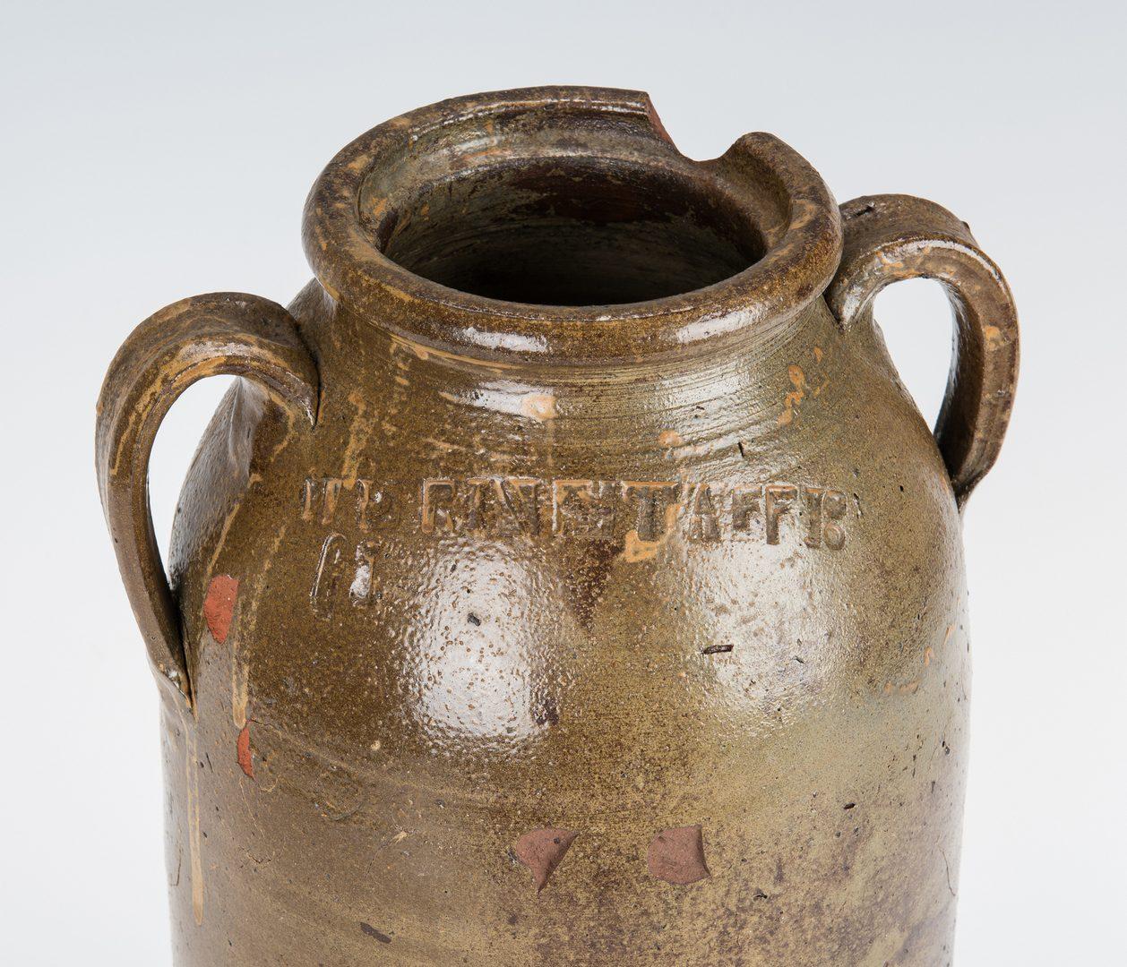 Lot 149: East TN Grindstaff Double Handled Jar