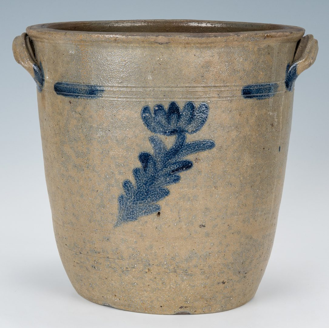 Lot 150: East TN Stoneware Jar, Attrib. Charles Decker