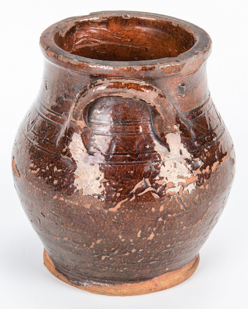 Lot 151: SW VA/East TN Miniature Earthenware Jar
