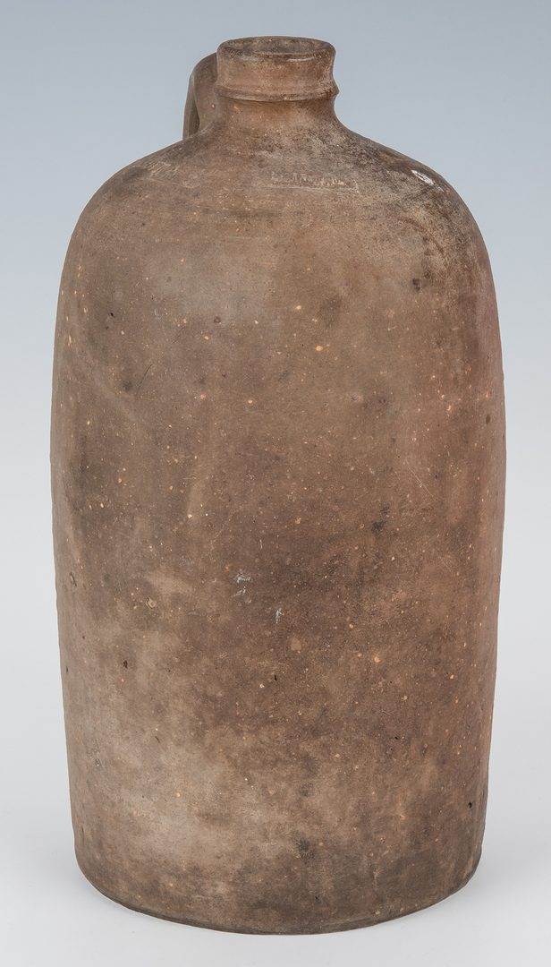 Lot 161: 2 J. B. Magee VA Stamped Pottery Pieces, One Exhibited