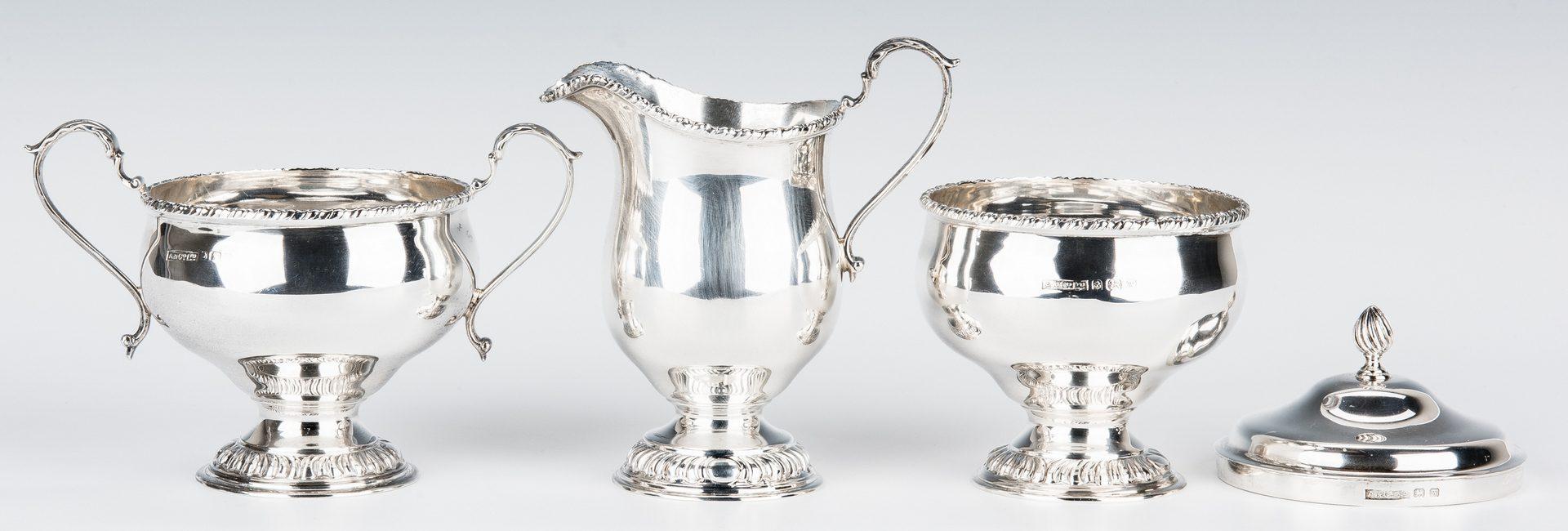 Lot 198: Asprey & Co. Sterling Silver Tea Set