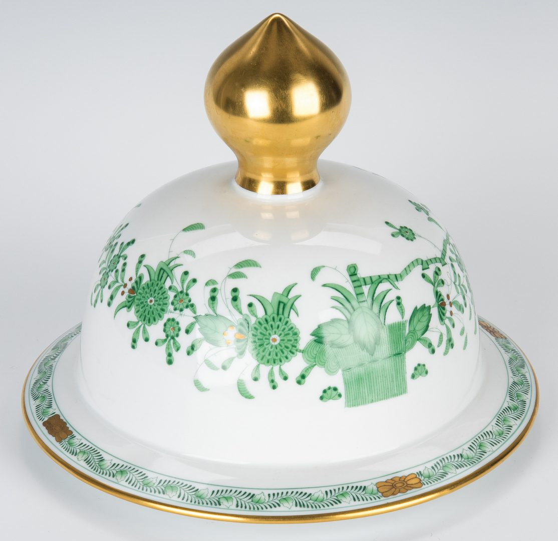 Lot 232: Large Herend Porcelain Lidded Urn, Chinese Bouquet