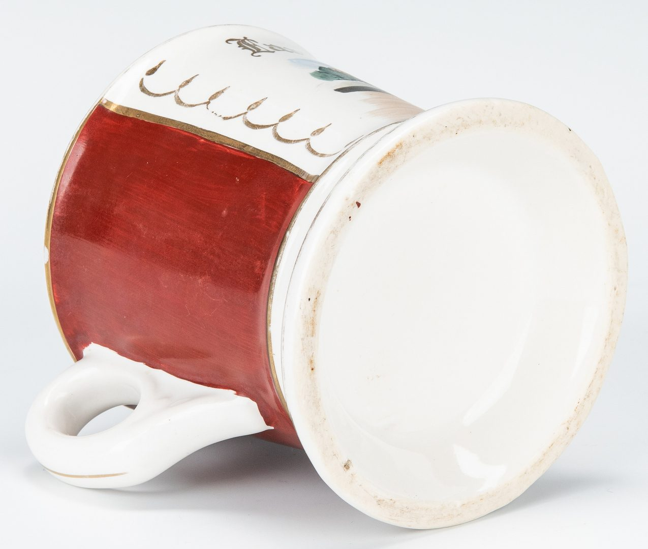 Lot 239: Group of 10 Occupational Shaving Mugs