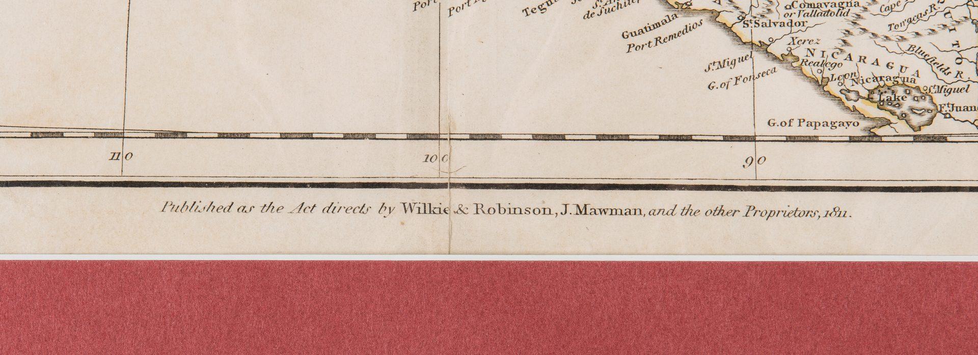 Lot 245: North America Map, 1811 John Russell