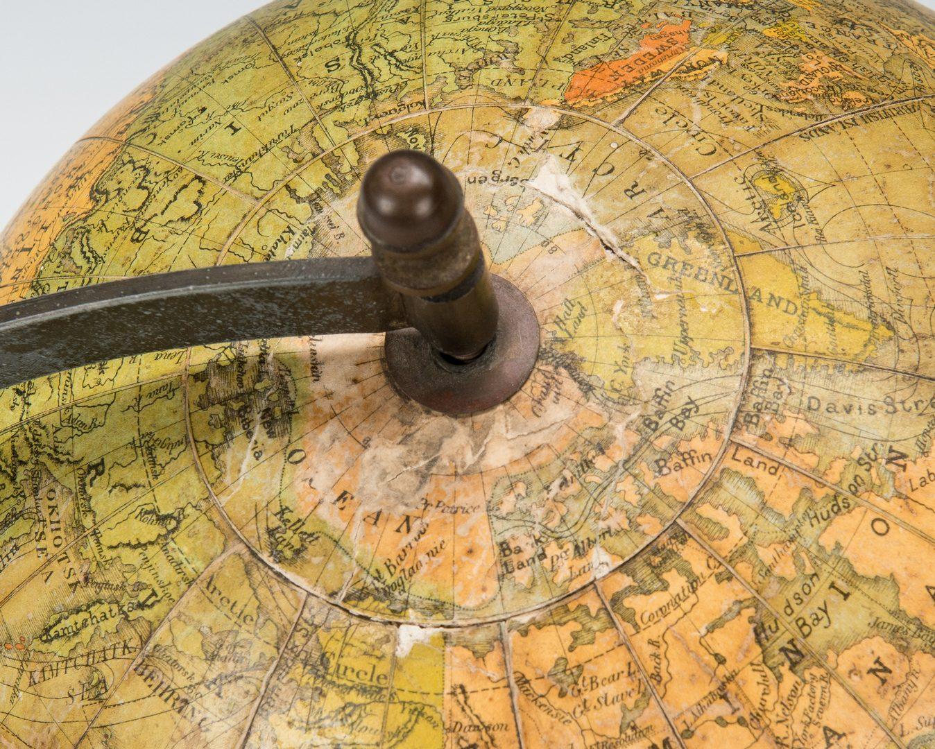 Lot 255: Terrestrial Table Globe, E.J. Arnold & Son