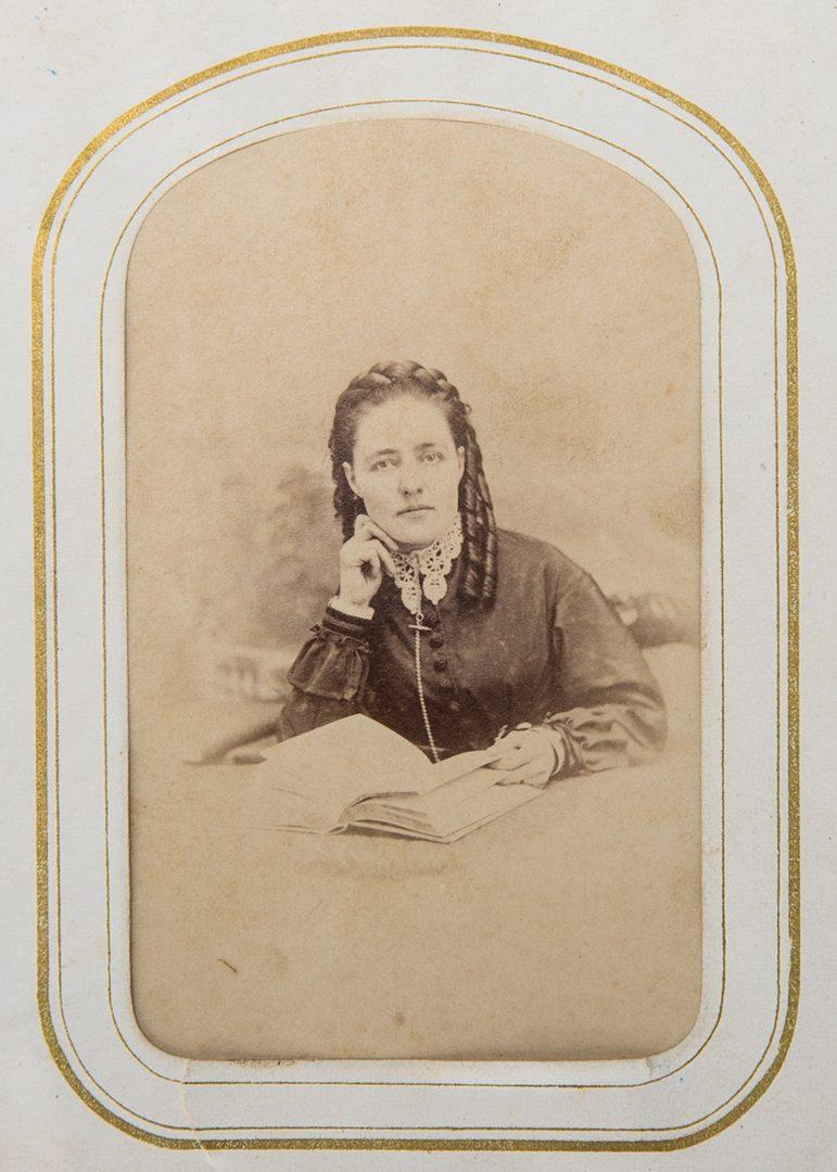 Lot 264: Album of 42 Confederate CDVs, incl. Generals, Booth