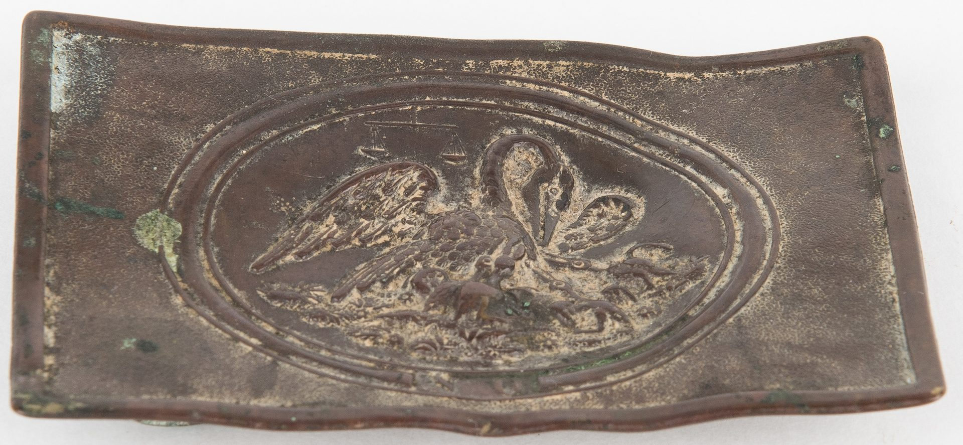 Lot 270: Confederate Enlisted Louisiana Belt Buckle