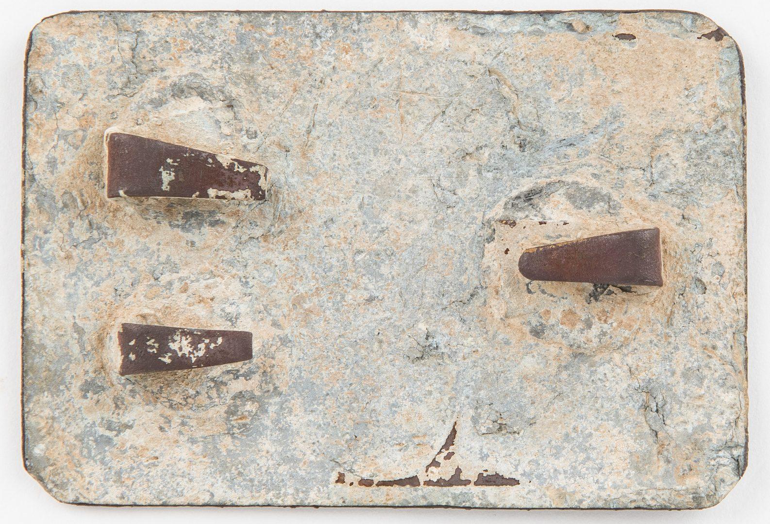 Lot 271: Confederate Louisiana Waist Belt Plate